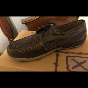 Twisted X Women's Moc Moccasin Size 10 M Flower